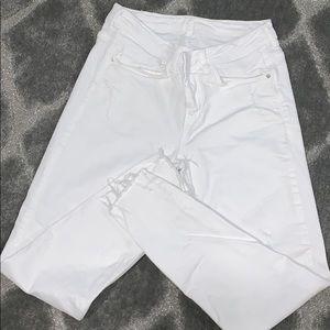 White Zara jeans